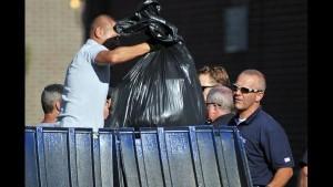 Police In Trash
